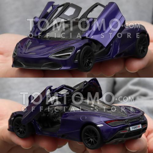 Foto Produk McLaren 720s Tomtomo Mobil Mobilan Diecast Miniatur Mainan Cowok Laki - Ungu dari Tomtomo