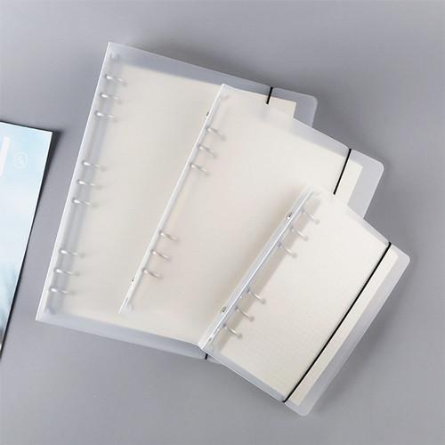 Foto Produk DIY 6 Ring Plastic Binder Cover A5 - Sampul Binder A5 - Binder 6 Ring dari Pinkabulous