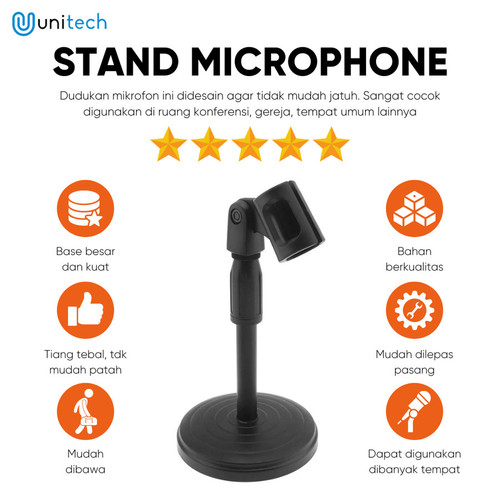 Foto Produk Microphone Stands Holder Mini L3 Stand Mic Holder Mini dari TokoUsbcom