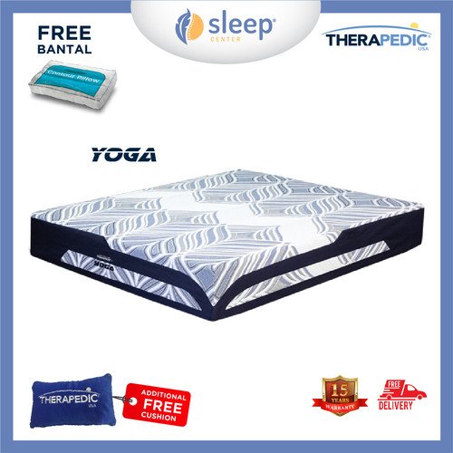 Foto Produk SC Therapedic Yoga R 100 120 160 180 200 - 100x200 dari SLEEP CENTER