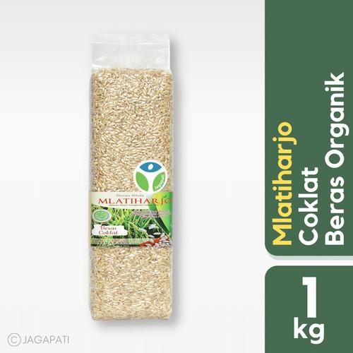 Foto Produk Mlatiharjo - Beras Cokelat 1kg Vakum - Beras Organik dari Jagapati
