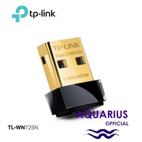 Foto Produk TP Link TP-Link TL-WN725N Nano USB Wireless Network Adapter 150Mbps dari Aquarius Official