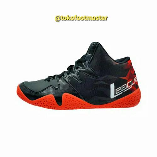 Foto Produk Sepatu Basket League Original Beast Fiery Red Black White [PROMO] dari Toko Sepatu FootMaster