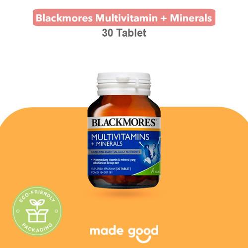Foto Produk Blackmores Multivitamin dan Minerals - BPOM Kalbe Vitamin - Australia - 30 Tablet dari Made Good Market