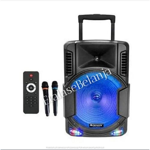 Foto Produk Speaker Portable Sound System Aiwa WAS-115LVB - 15 Inch dari EtalaseBelanja