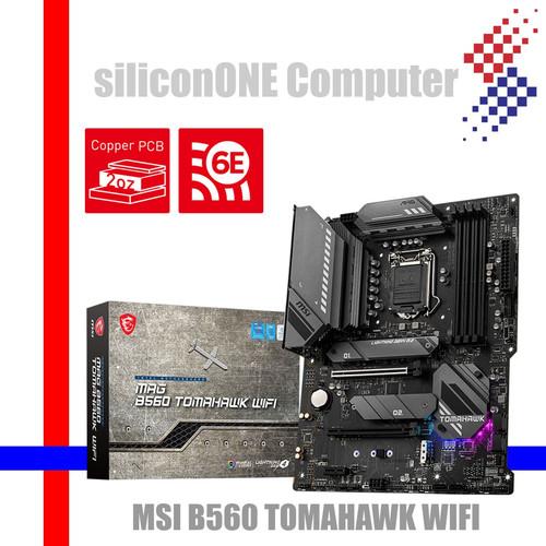 Foto Produk MSI B560 TOMAHAWK WIFI dari silicon ONE Computer