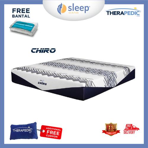 Foto Produk SC Therapedic Chiro R 100 120 160 180 200 - 100x200 dari SLEEP CENTER