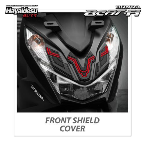 Foto Produk Hayaidesu BEAT 2020 Body Protector Front Shield Cover - Merah dari Hayaidesu Indonesia