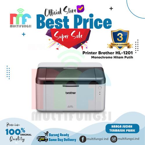 Foto Produk Printer Brother HL-1201 Monochrome Original Hitam Putih HL1201 HL 1201 dari Multifungsi Online