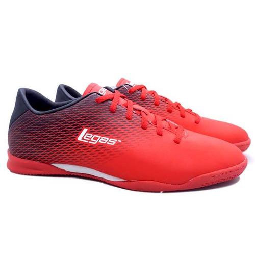 Foto Produk Sepatu Futsal Legas Attacanti LA Original - Fiery Red/Black, 42 dari SPORTAWAYS