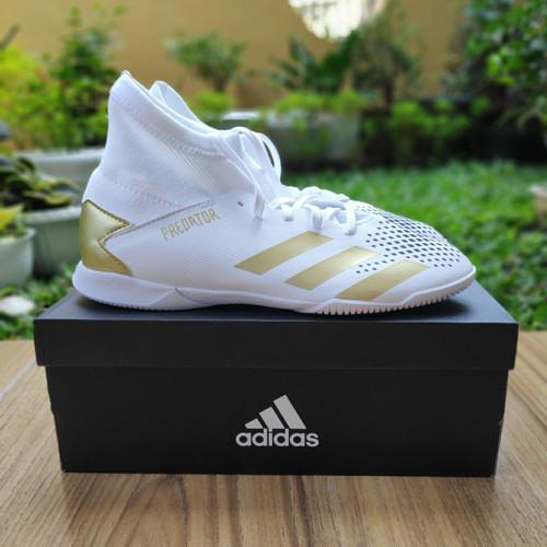 Foto Produk Sepatu Futsal Anak Adidas Predator Mutator 20.3 White Size 38.5 BNIB dari original_step
