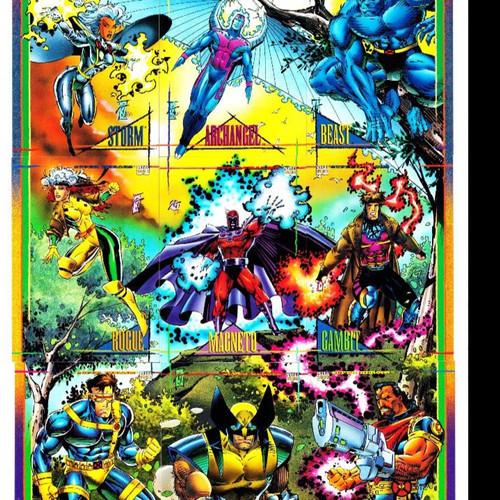 Foto Produk Marvel Universe 1993 Trading Cards Pack Complete Set 180 kartu dari Charu Toys