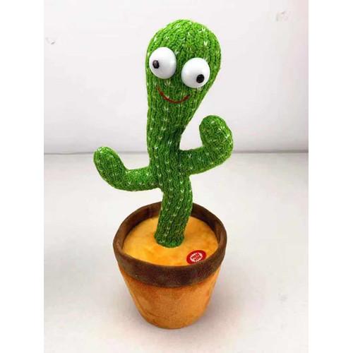 Foto Produk Boneka Kaktus LED Menari Music Dan Rekam Suara/Dancing Cactus Toy - LED KAKTUS dari Flash Unik