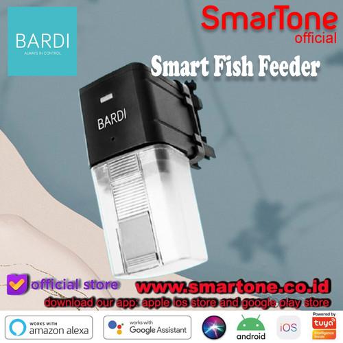 Foto Produk BARDI WiFi Smart Fish Feeder - Black IoT Home Auto Alexa GoogleHome dari SmartOne WDG Relx