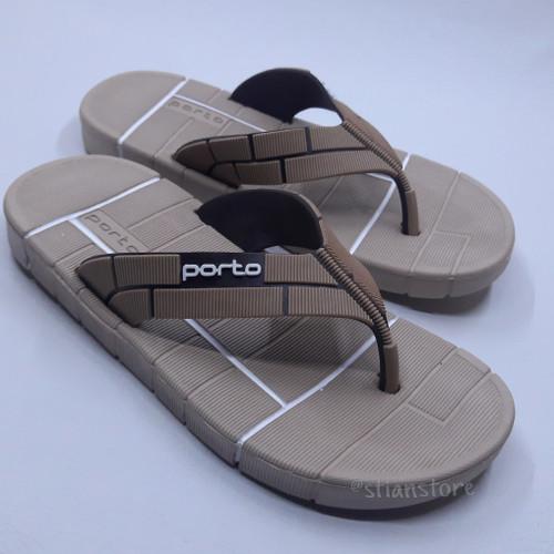 Foto Produk Sandal Jepit Pria Sandal Porto 1034 - Random Warna, 38 dari astianstore