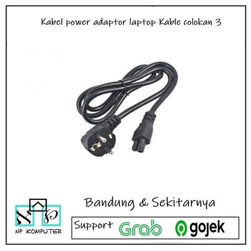 Foto Produk Kabel power adaptor laptop Kable colokan 3 dari np komputer