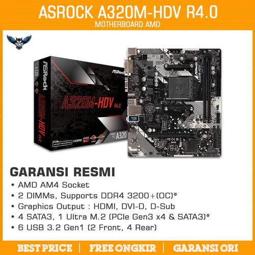Foto Produk Asrock A320M HDV dari YOUNGS COMPUTER