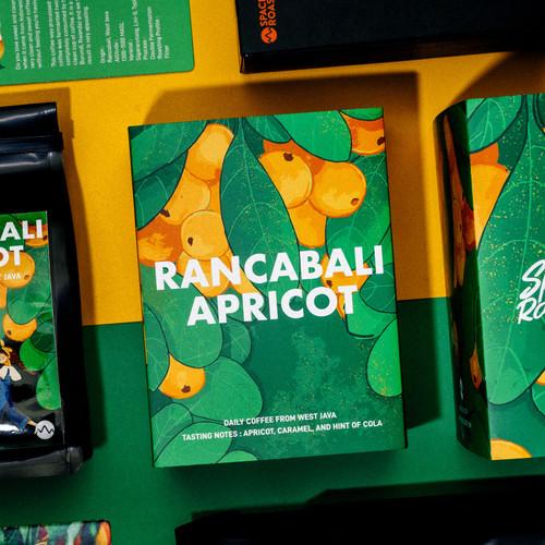 Foto Produk Rancabali Apricot (200 gr) roasted beans specialty coffee biji kopi dari Space Roastery