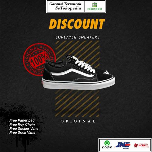 Foto Produk Vans Old Skool Black White EVB Original 100% - 37 dari Suplayer Sneakers