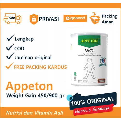 Foto Produk APPETON WEIGHT GAIN ADULT 900 GR - Coklat dari Nutrivit Surabaya