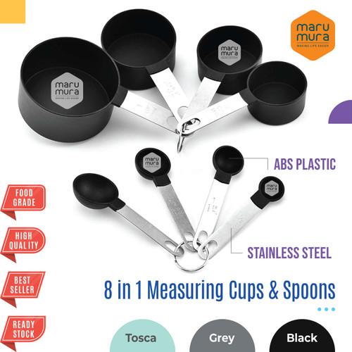 Foto Produk Marumura 8 in 1 Measuring Spoon and Cups | Sendok Gelas Takar - Hijau dari Marumura Surabaya