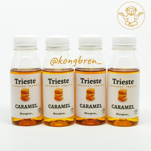 Foto Produk Sirup Trieste Repack 100 ml Coffee Flavours - Trieste Syrup Repack - Caramel dari Kongbren