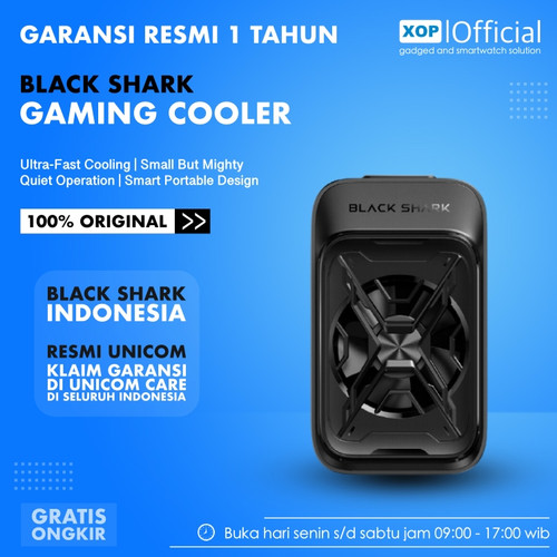 Foto Produk Black Shark Cooler BR30 Liquid Cooling Fan Pendingin HP - BR30-RM dari XOP Official