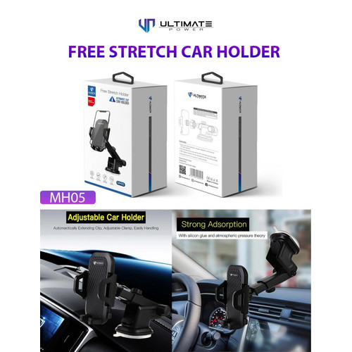 Foto Produk Ultimate Free Stretch Car Phone Holder for Dashboard & Windshield MH05 dari Ultimate Power Official