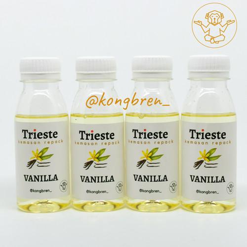 Foto Produk Sirup Trieste Repack 100 ml Coffee Flavours - Trieste Syrup Repack - Vanilla dari Kongbren
