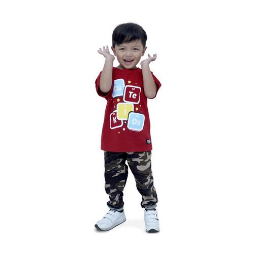 Foto Produk Kaos Dagadu Bocah Adik Official - KLPD Cute - S dari Dagadu Official Shop