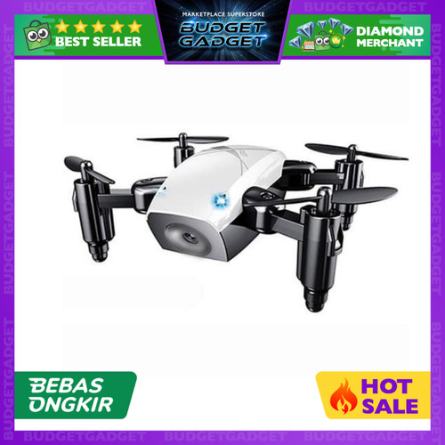 Foto Produk Quadcopter Drone Mini Pocket Foldable Tanpa Kamera - S9 dari BudgetGadget