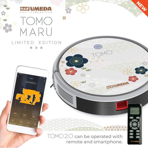 Foto Produk Umeda Tomo Maru Robot Vacuum Cleaner and Mop (Sapu Pel Vakum Debu) dari UMEDA