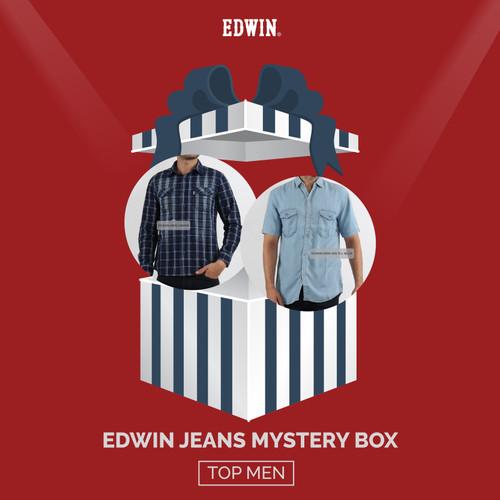 Foto Produk Mystery Box - Edwin Jeans Random Design Kemeja - S dari Edwin Jeans