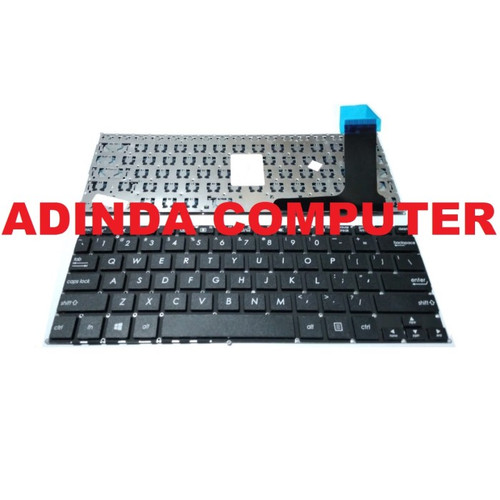 Foto Produk Keyboard ASUS E202 E203 E203NAH TP203 TP203NAH E202 E202S E202M black dari Adinda Computer