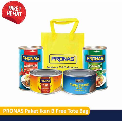 Foto Produk PRONAS Paket Ikan B Free Tote Bag dari Pronas Official Store