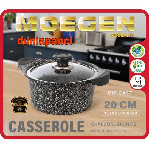 Foto Produk Moegen Germany Casserole / Stock Pot 20cm Granite Series dari duniapanci