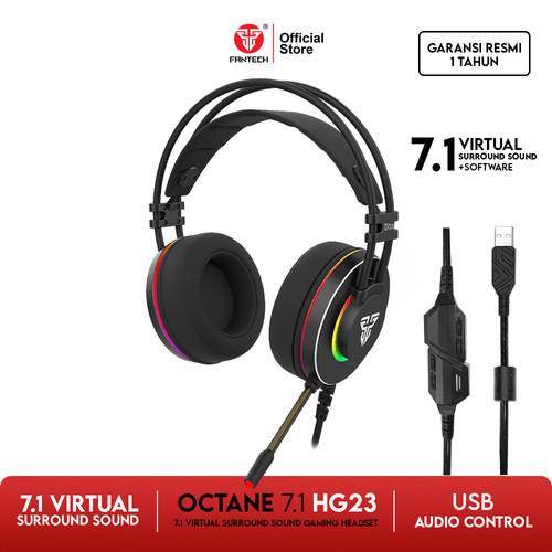 Foto Produk Fantech OCTANE 7.1 HG23 RGB Headset Gaming dari Fantech Official Store