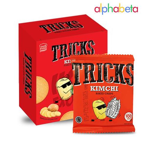Foto Produk TRICKS CRISPS POTATO BAKED 10 X 18 GR - BISKUIT KENTANG PANGGANG - KIMCHI dari AlphaBeta.Shop