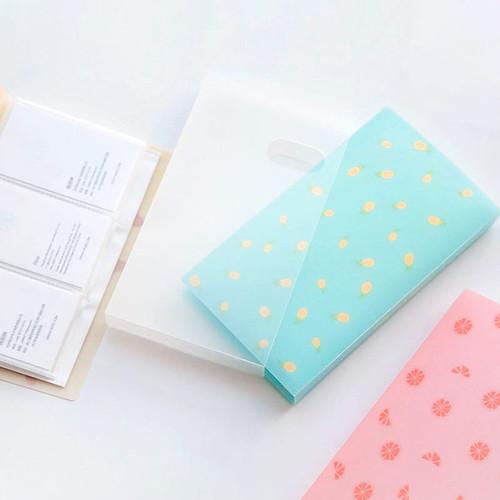 Foto Produk Fresh Pattern Plastic Card Holder - Tempat Kartu - Card Holder dari Pinkabulous