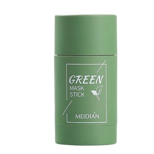Foto Produk MEIDIAN Green Tea Eggplant Mask Cleansing Clay Stick Masker Wajah Stik - MEIDIAN GREENTE dari Bursa Cosmetik Murah