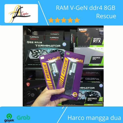 Foto Produk RAM V-GeN ddr4 8GB Rescue dari AL computerr