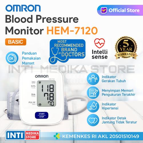 Foto Produk OMRON - Tensi Digital HEM 7120 | Tensi Omron | Tensimeter Digital dari INTI MEDIKA STORE