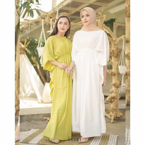 Foto Produk ADORABLE KAFTAN DRESS MUSLIM PANJANG LEBARAN BIG SIZE JUMBO MURAH dari Pattern Indo