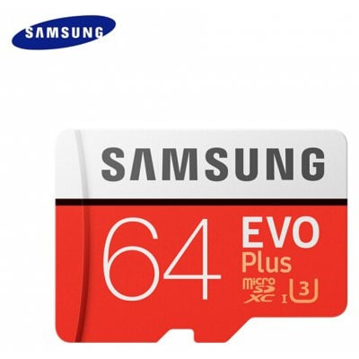 Foto Produk Micro SD Samsung Evo Plus 64gb Memory HP SDXC 64 gb UHS-I Card dari PojokITcom Pusat IT Comp