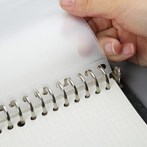 Foto Produk Zipper Pocket Binder Divider A5 - Binder 6 Ring - Pocket Binder A5 dari Pinkabulous