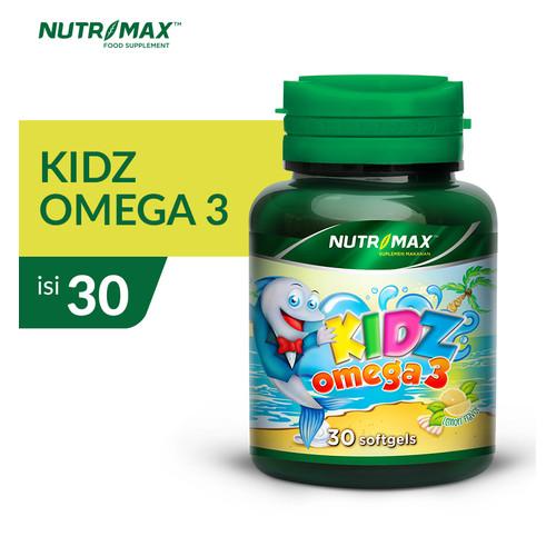 Foto Produk NUTRIMAX KIDZ OMEGA 3 ISI 30 SOFTGEL dari Nutrimax Official Store