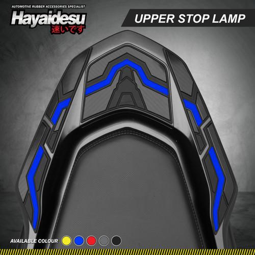 Foto Produk Hayaidesu PCX 160 Body Protector Upper Stop Lamp Cover - Biru dari Hayaidesu Indonesia