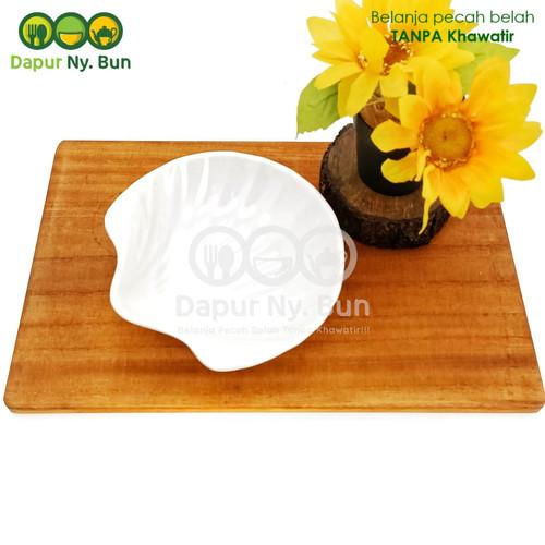 Foto Produk Mangkok Mini Kerang Melamin Unica Ukuran 5,5 Inch dari Dapur Ny.Bun