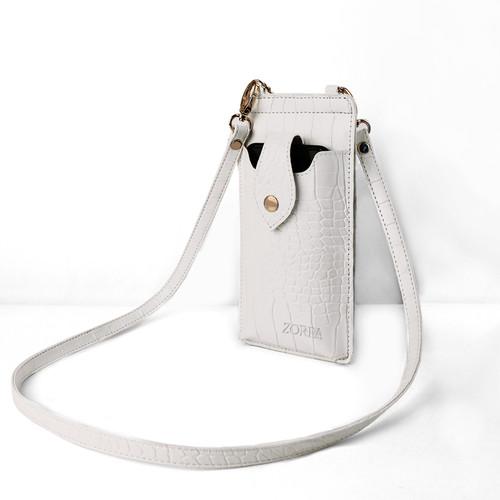 Foto Produk Alice Crossbody Phone Bag Rantai by ZORRA - Putih dari ZORRA_id
