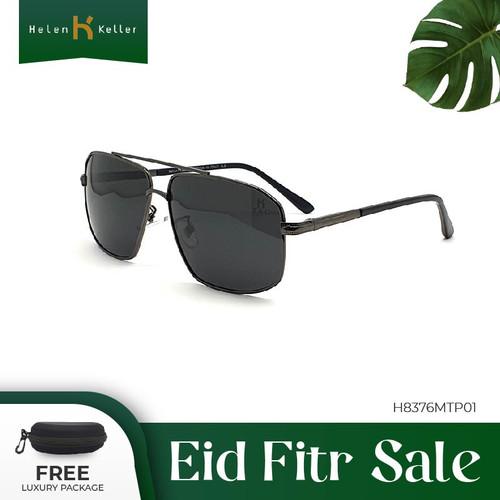 Foto Produk HELEN KELLER-Kacamata Hitam-Sunglasses Pria-anti UV-H8376MT-P01-Black dari Helen Keller Official